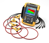 Fluke 434 II Регистратор - анализатор показателей качества электроэнергии с датчиками тока