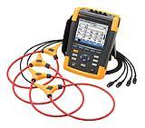 Fluke 435 II Регистратор - анализатор показателей качества электроэнергии с токовыми датчиками